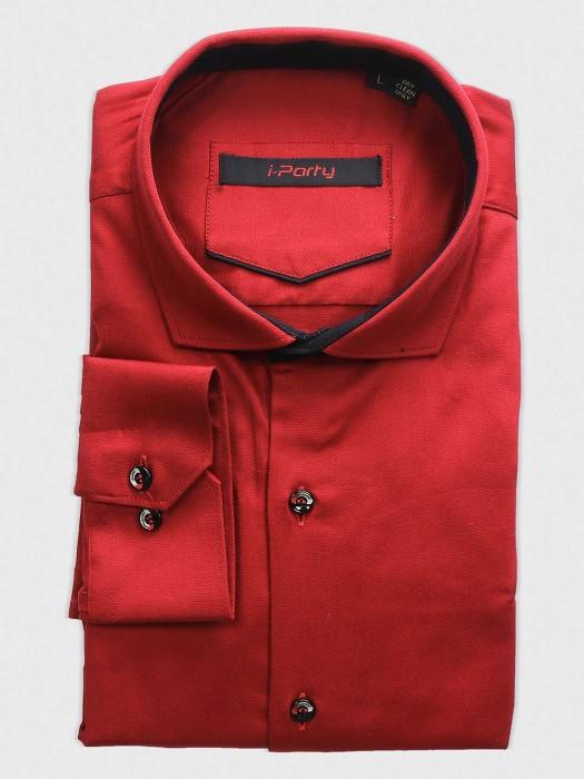 I Party Bright Red Hue Shirt