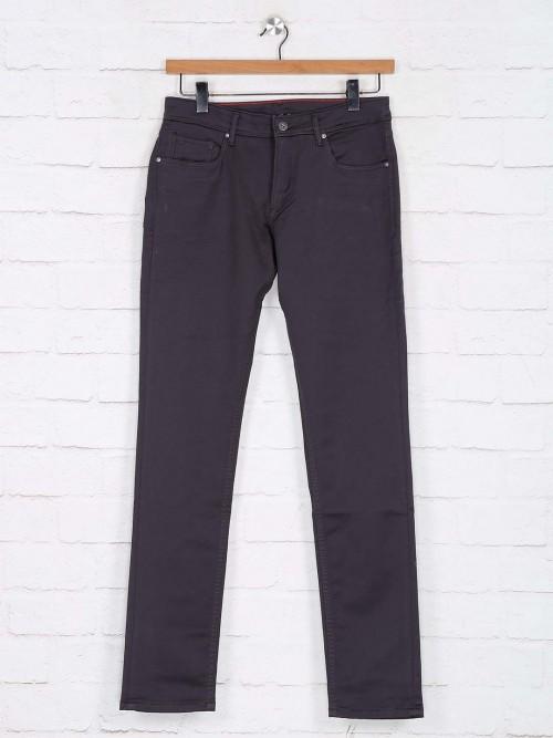Killer Grey Solid Slim Fit Jeans