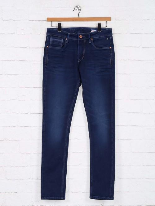 Killer Navy Skinny Fit Washed Jeans