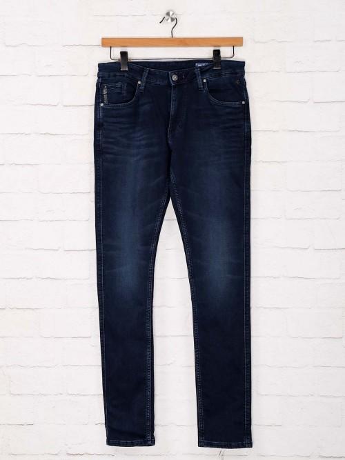 Killer Navy Solid Skinny Fit Jeans