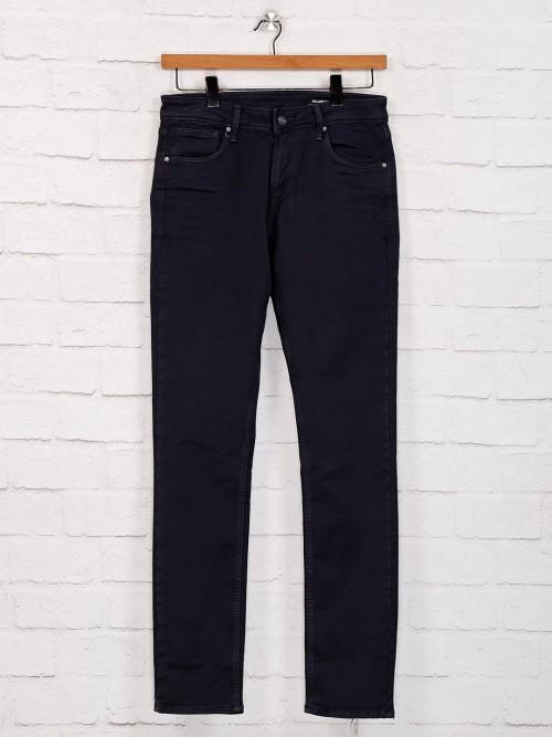 Killer Navy Solid Slim Fit Jeans