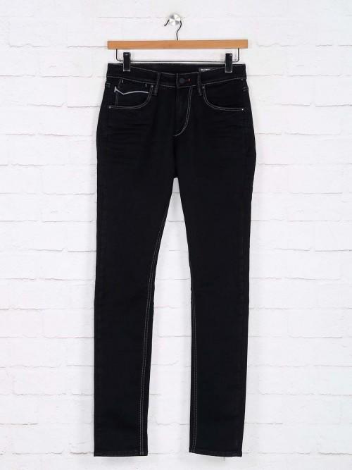 Killer Solid Black Kinny Fit Jeans