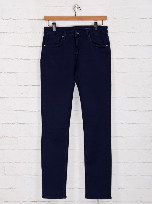Killer Solid Navy Casual Wear Jeans