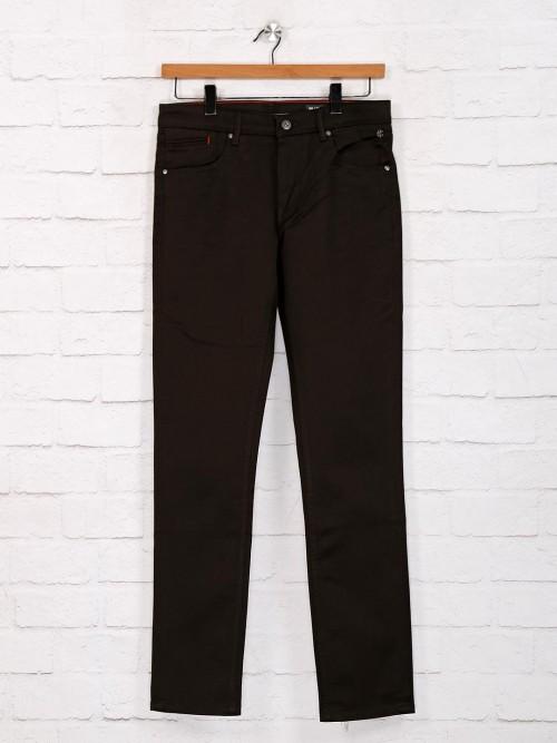 Killer Solid Olive Slim Fit Jeans