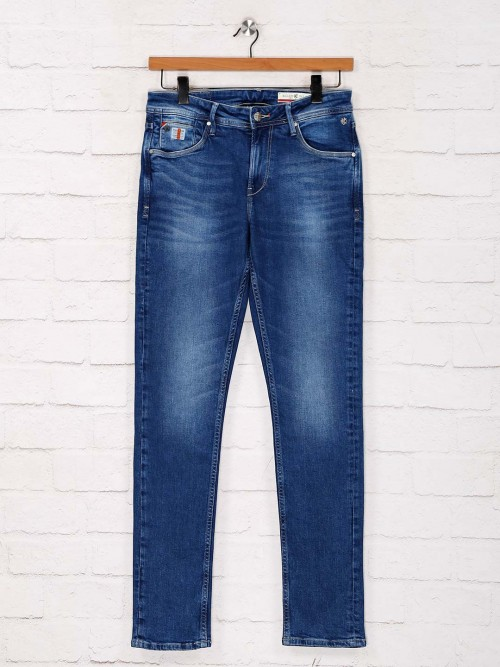 Killer Solid Royal Blue Skinny Fit Jeans