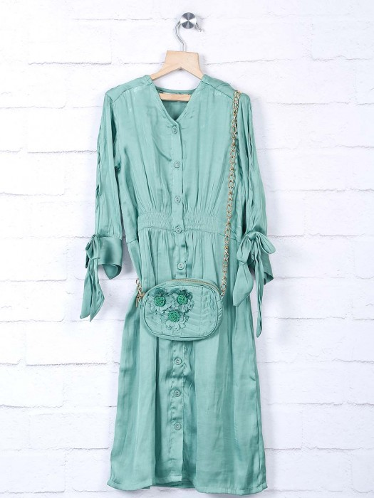 Leo N Babes Cotton Silk Frock