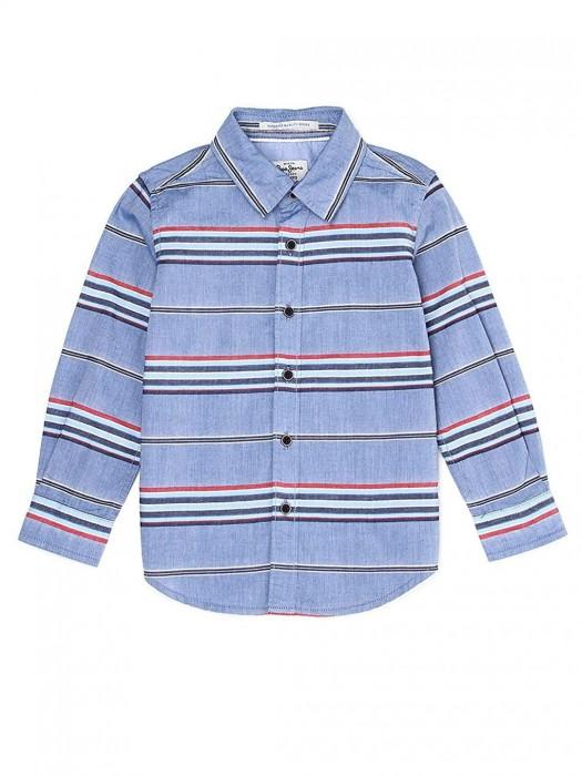 Pepe Jeans Light Blue Stripe Shirt