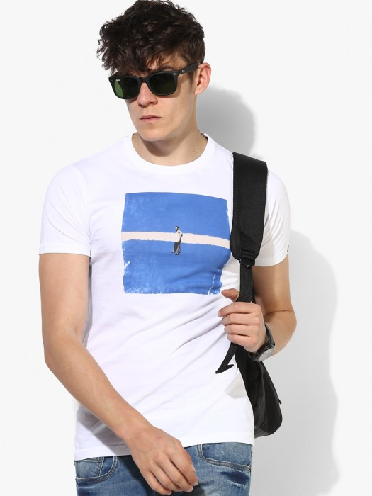 Pepe Jeans Simple White T-shirt