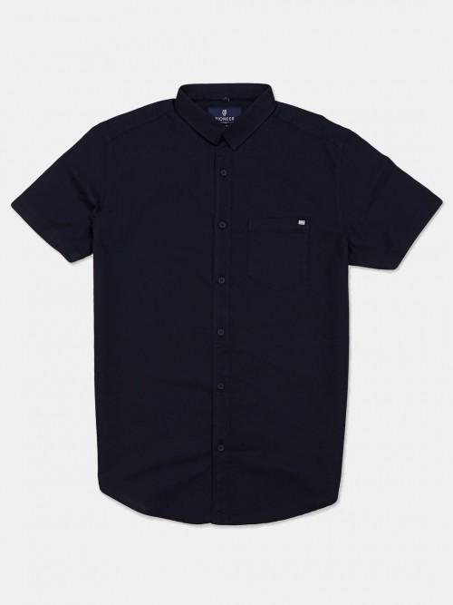 Pioneer Presented Navy Solid Shirt