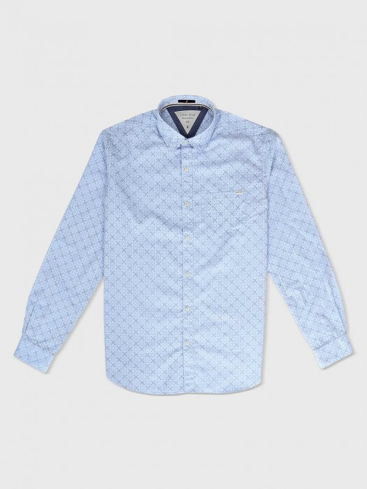 River Blue Light Blue Casual Shirt