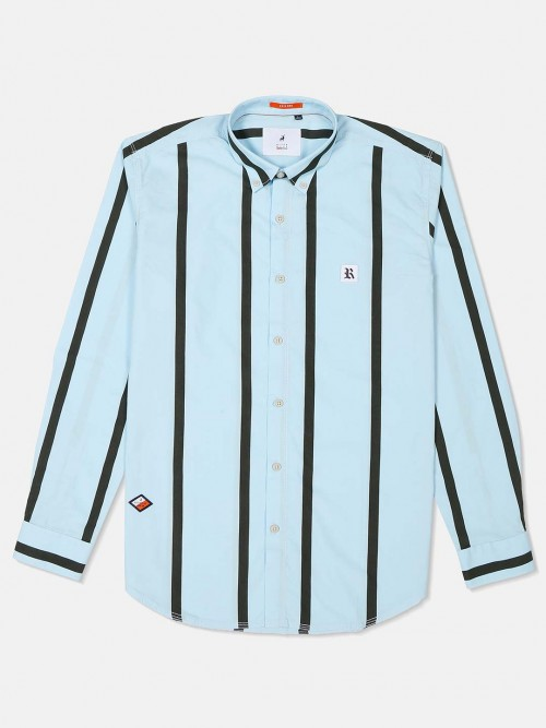 River Blue Sky Blue Buttoned Down Collar Shirt