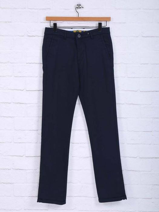 Sixth Element Dark Navy Hue Trouser