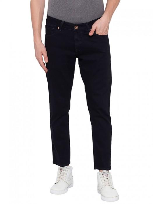 Spykar Slim Fit Dark Navy Casual Jeans