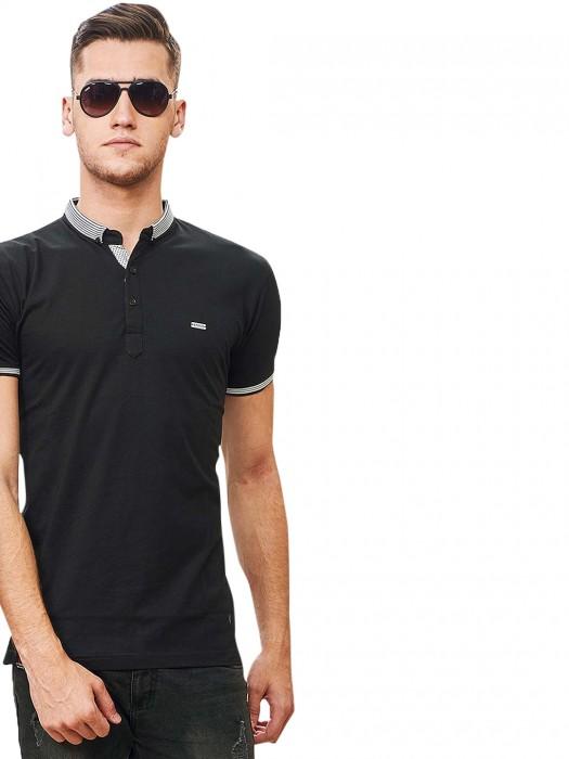Stride Presented Solid Black Hue T-shirt