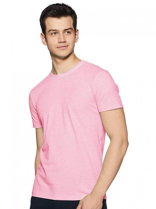 UCB Presented Solid Pink T-shirt