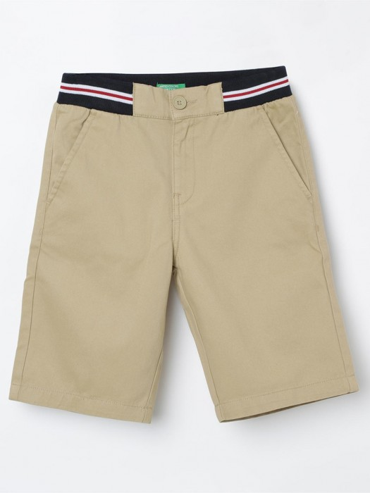 United Colors Of Benetton Casual Beige Short