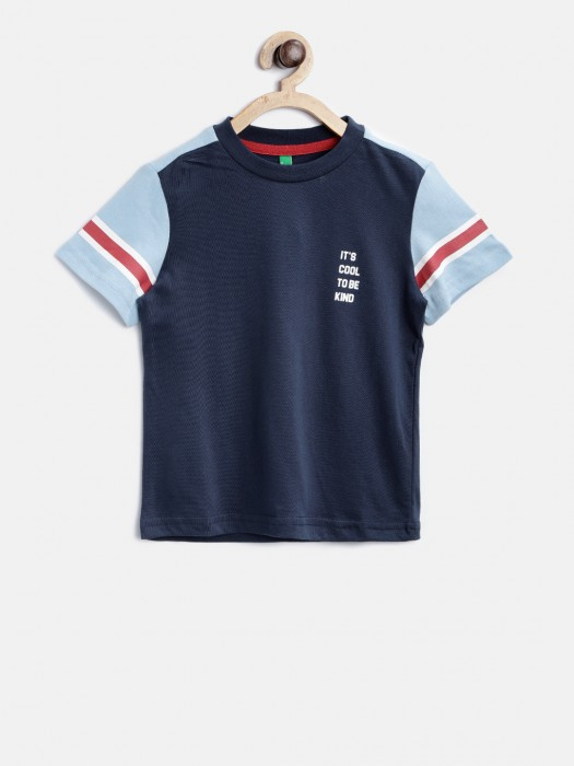 United Colors Of Benetton Navy T-shirt