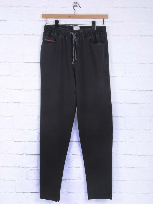 Xn Replay Black Hue Comfortable Track Pant