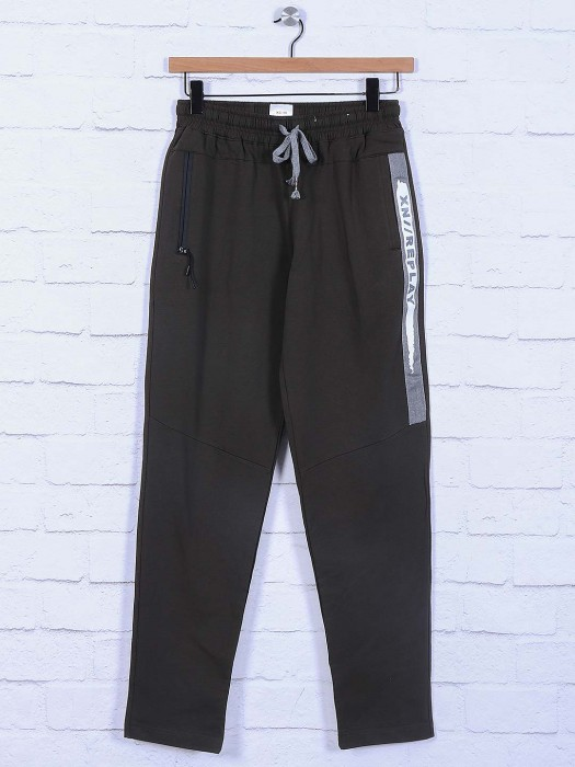 Xn Replay Olive Color Mens Track Pant