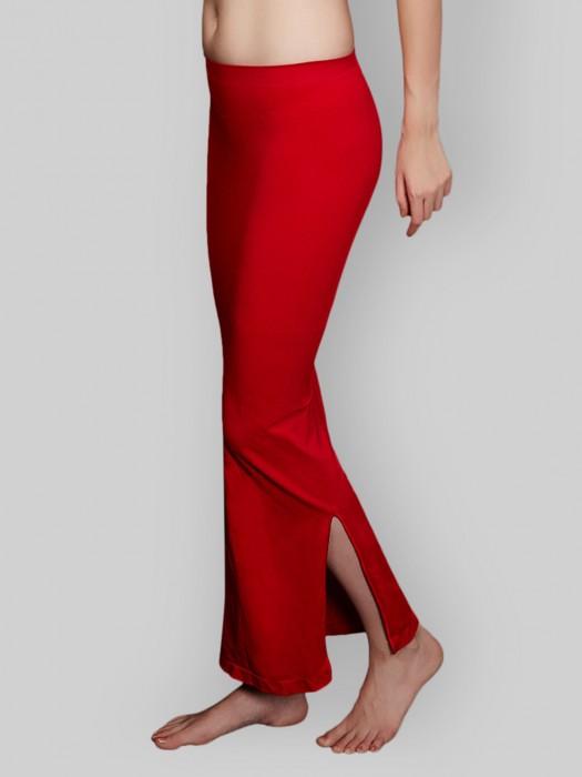 Zivame Saree Shape Wear Red Lycra Petticoat