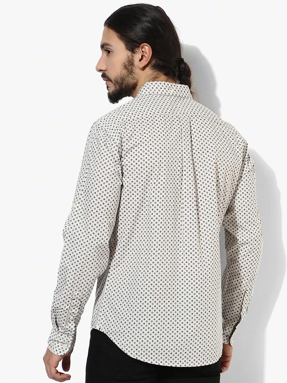 Levis printed cotton slim fit shirt g3 mcs3536 for Slim fit cotton shirts