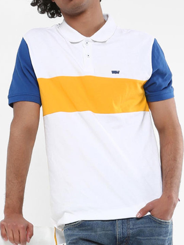 413cf479d8d Levis solid white colored slim fit t-shirt - G3-MTS8739 | G3fashion.com
