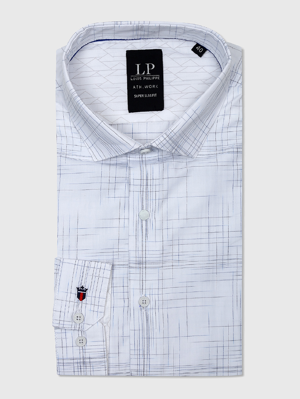 6616fd6fb4e Louis Philippe formal white shirt - G3-MCS5022