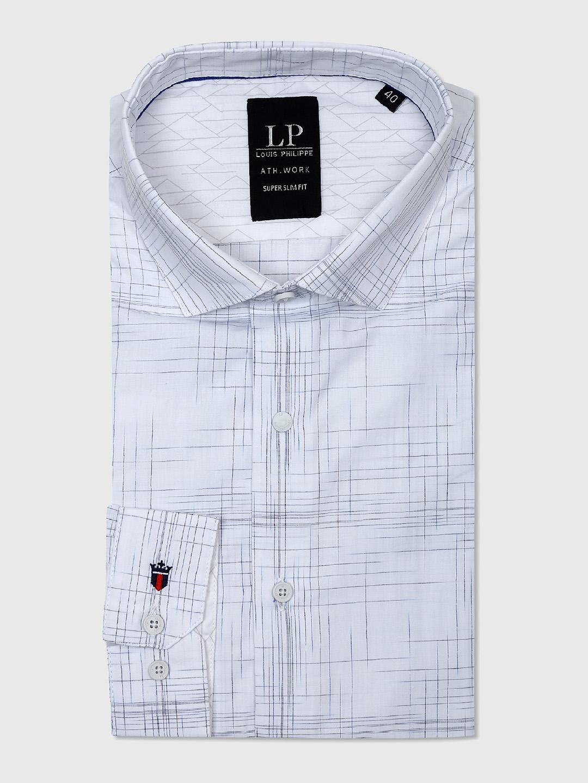 Louis Philippe Formal White Shirt G3 Mcs5022 G3fashion Com