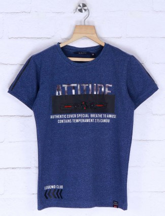 99 Balloon blue color printed t-shirt