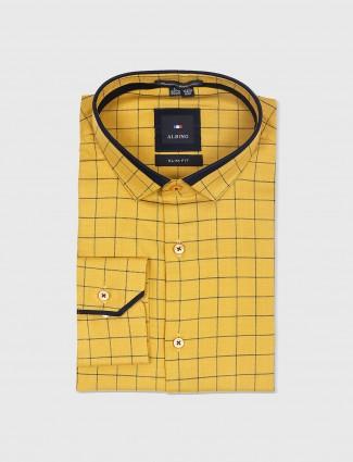 Albino mustard yellow shirt