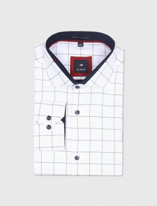 Albino white cotton shirt