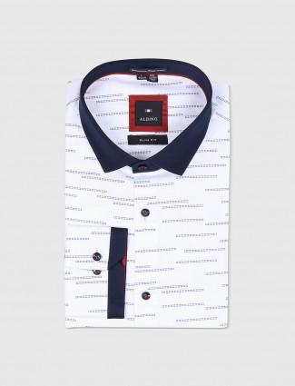 Albino white printed shirt