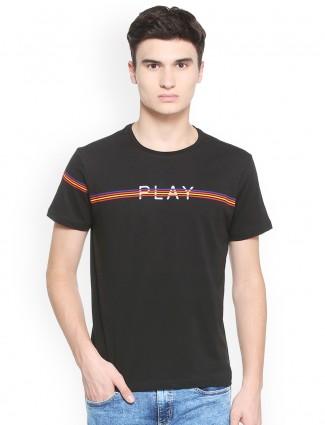 Allen Solly black color t-shirt