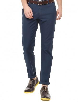 Allen Solly cotton navy trouser