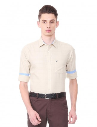 Allen Solly cream shirt