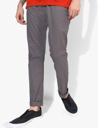 Allen Solly dark grey trouser