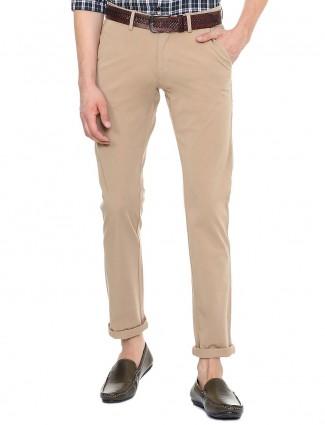 Allen Solly khaki hue trouser