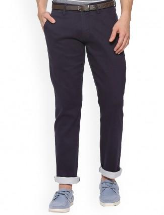 Allen Solly simple navy trouser