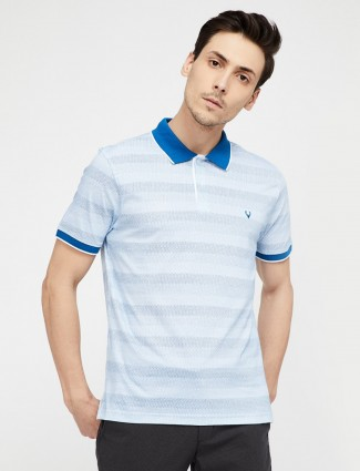 Allen Solly white color printed t-shirt