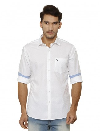 Allen Solly white hue shirt