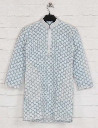 Aqua lakhnavi georgette kurta suit