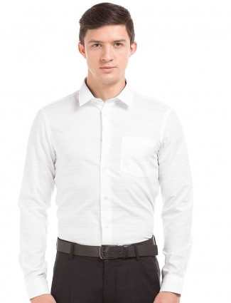 Arrow New York white cotton shirt
