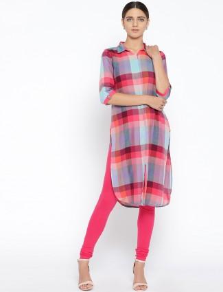 Aurelia Pink casual kurti