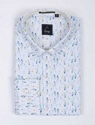 Avega presented white color printed shirt