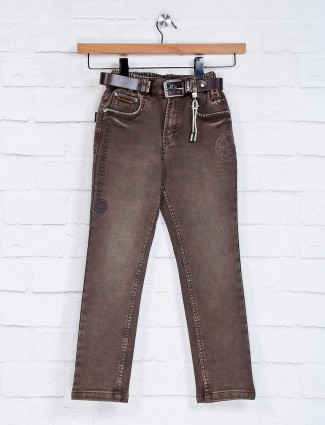 Bad Boys casual solid brown jeans