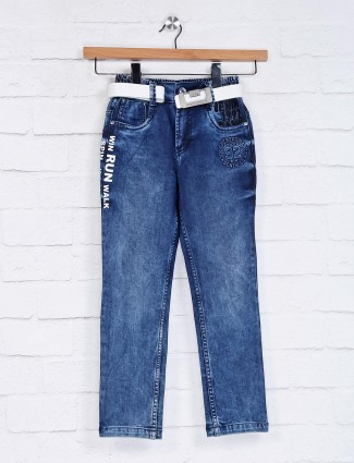 Bad Boys elasticated blue jeans