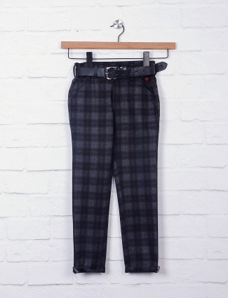 Bad Boys grey and black casual trouser