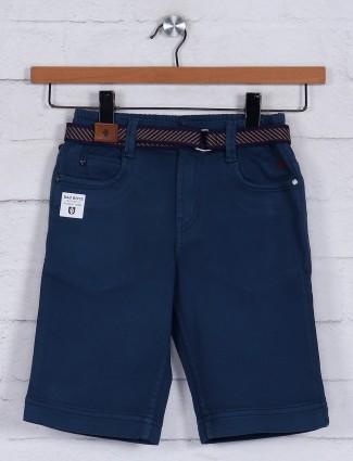 Bad Boys navy casual cotton short