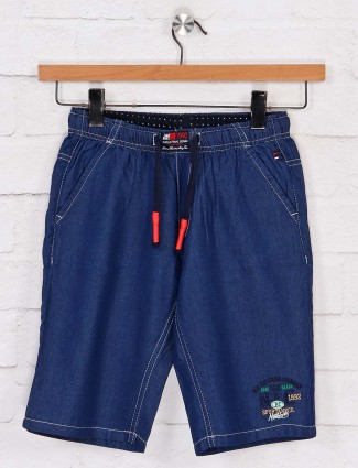 Bad Boys navy casual solid short