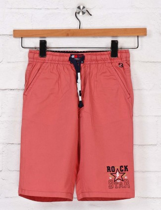 Bad Boys pink casual cotton short